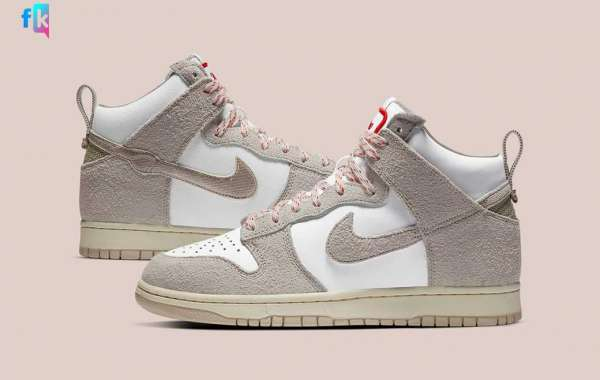"""Nike SB Dunk Hight """"Strawberry Cough"""" 2020 For Sale CW3092-100"""