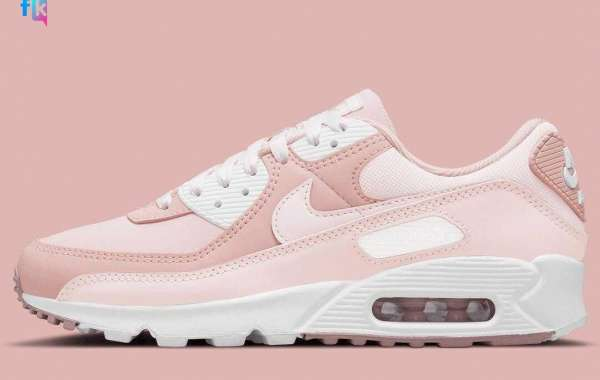 Dont Missed New DJ3862-600 Nike Air Max 90 Barely Rose Pink Oxford