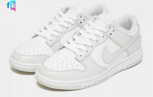 "Nike Dunk Low WMNS ""Photon Dust"" DD1503-103 will be officially released this spring"