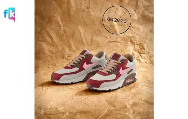 """The sky-high price DQM """"Bacon"""" co-branded Air Max 90 will be reissued soon!"""