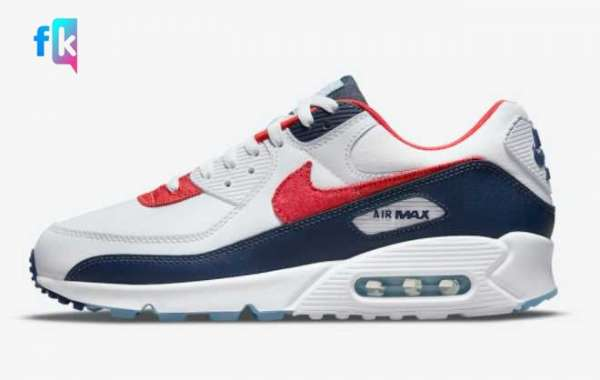 "Cheap Nike Air Max 90 ""USA Denim"" DJ5170-100 Hot sell"