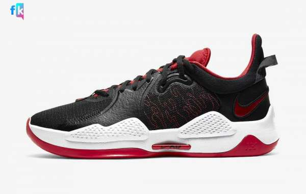 "The new Nike PG 5 ""Bred"" CW3143-002 shoes are available in limited edition"