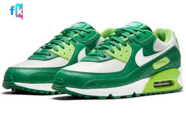 "You Will Need More Luck to Cop Nike's Air Max 90 ""St. Patrick's Day"""