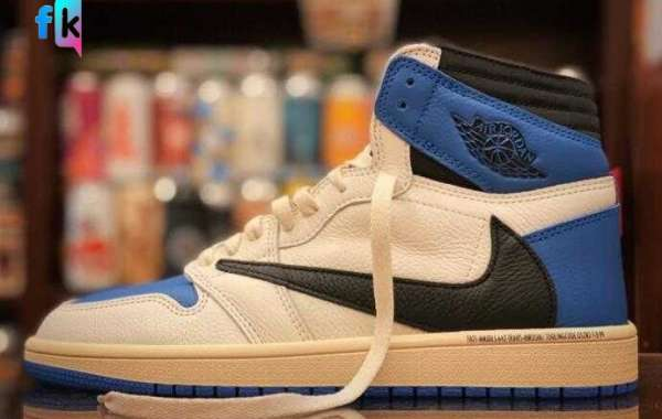 Travis Scott x Air Jordan 1 High OG Military Blue to Dropping Fall 2021