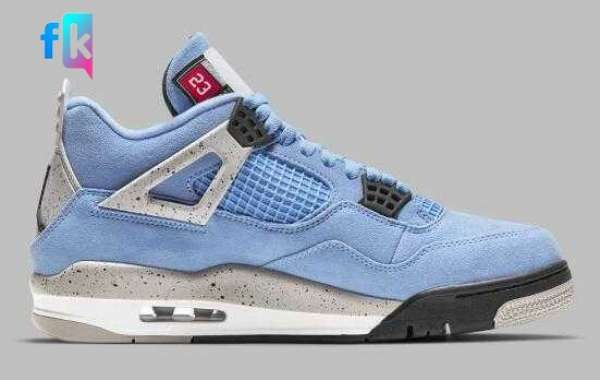 Where to Buying New Style Air Jordan 4 University Blue Sport Sneakers ?