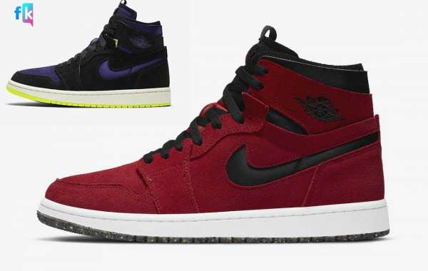 "Air Jordan 1 High Zoom ""Lemon Venom"" CT0979-001/Comfort ""Red Suede"" CT0978-600 For Sale Online"