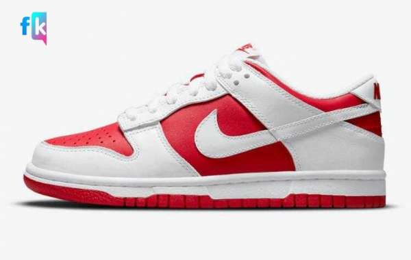 Latest Nike Dunk Low University Red Will Coming Soon