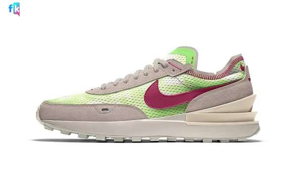 Latest 2021 Nike Waffle One By You Shoes Coming Soon