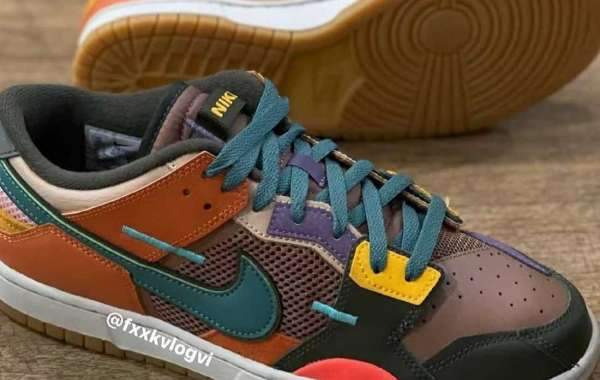 """Brand New Nike Dunk Scrap """"Archeo Brown"""" will be released later"""