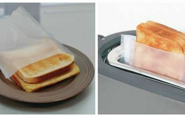 You Can us Txyicheng Toaster Bag Cook Tortilla Chips and Cheese Toastie