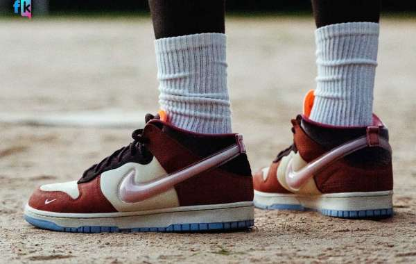 """DJ1173-700 Social Status x Nike Dunk Mid """"Chocolate Milk"""" will be released on September 4"""