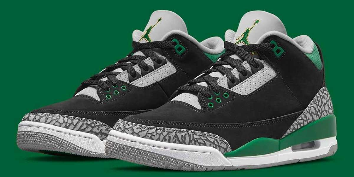 """Air Jordan 3 """"Pine Green"""" CT8532-030 will be released on October 30"""