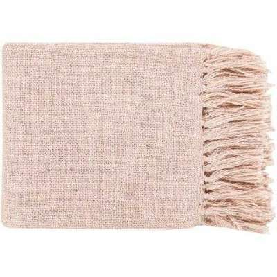 Tilda Throw Blankets in Pale Pink Color Profile Picture