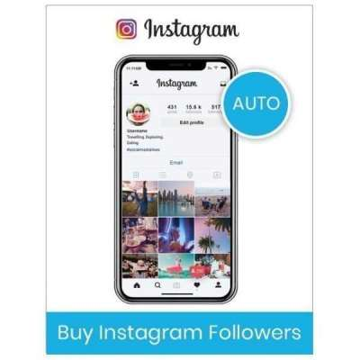 Buy Automatic Instagram Followers Profile Picture